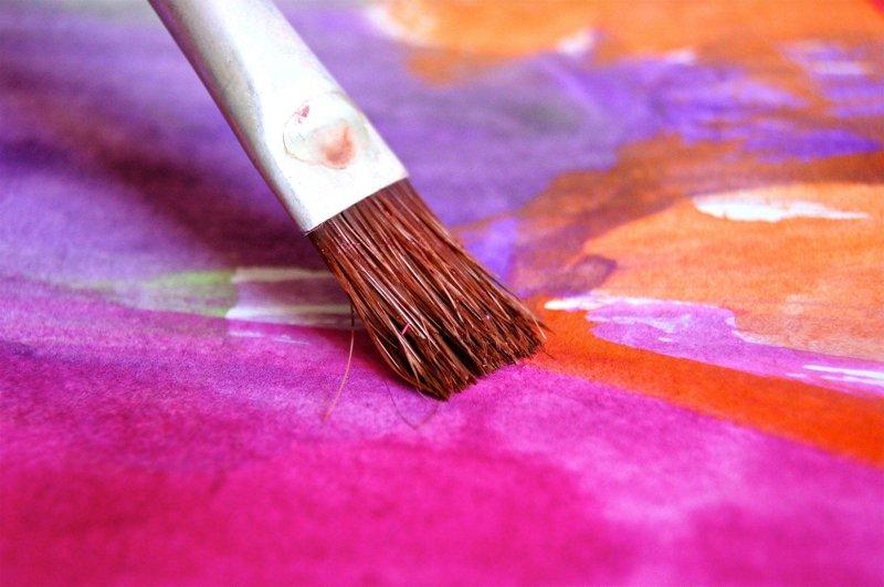 maľovanie obrazov pre začiatočníkov štetec z blýzka